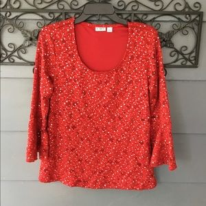 Cato Sequined Top